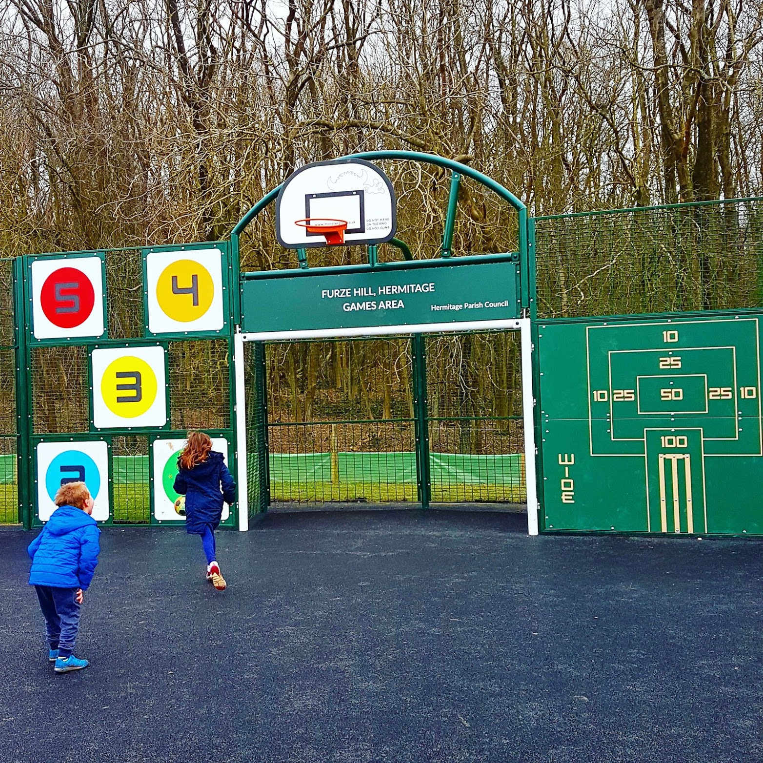 Picture of MUGA in use